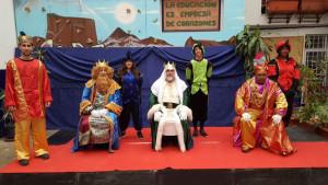 Los Magos de Oriente han tomado nota de las peticiones de los niños.