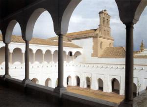 El Monasterio de Santa Clara de Moguer es un lugar con gran valor patrimonial e histórico. / Foto: cervantesvirtual.