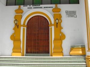Actual de Casa de la Cultura de Rociana, construida sobre un antiguo convento.
