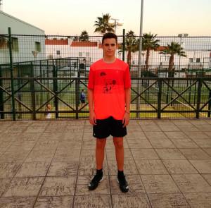 Andrés Limón firmó un excelente subcampeonato en  la primera prueba del Circuito de Menores de la FAP.