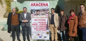 Presentación del cartel del Festival Taurino de Aracena.