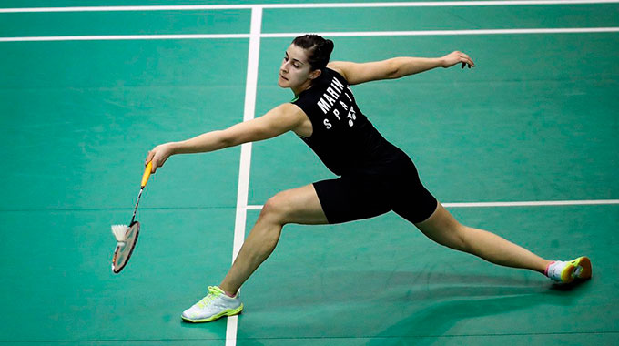 Carolina Marín superó la primera ronda del Abierto de China.