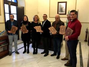Autoridades con ediciones del facsímil.