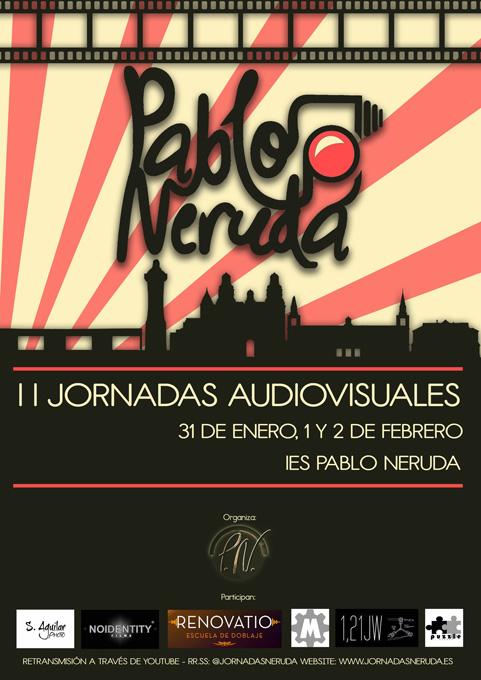 Los directores de cine Elías Pérez y Fernando Arroyo participan en las II Jornadas Audiovisuales del IES Pablo Neruda