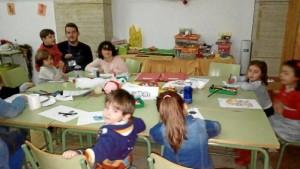 Los niños de la Fundación Laberinto, dedicada al cuidado y formación de menores con enfermedades raras, han compartido espacio y actividades con los niños de 'Casa Mágica'.