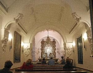 Interior el Convento de las Hermanas de la Cruz de Ayamonte. / Foto: Turismo de Ayamonte.