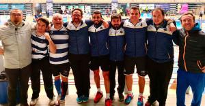 Componentes del Recre IES La Orden en el Campeonato de Andalucía Sénior.