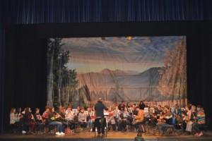 La grabación ha tenido lugar en el Teatro del Mar de la localidad costera.