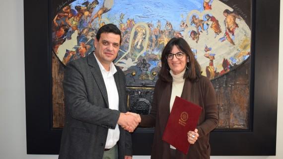 La Universidad de Huelva y el Ayuntamiento de Los Marines estrechan sus lazos de colaboración