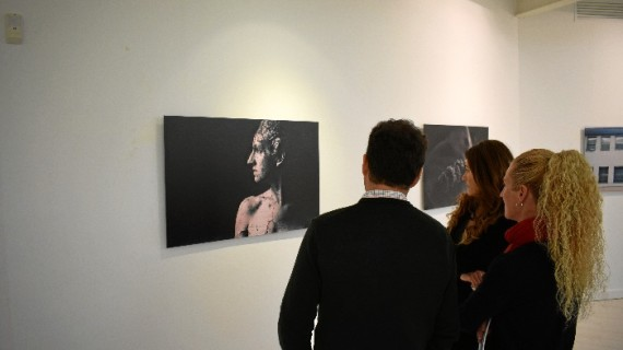 Exposición de las obras ganadoras de la IX edición del certamen 'Contemporarte' en Cantero Cuadrado