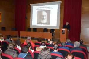 Un momento de la conferencia de Fernando Bea en la Universidad de Huelva.