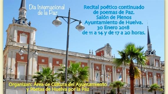 El Ayuntamiento conmemora el Día de la Paz con un recital poético continuado