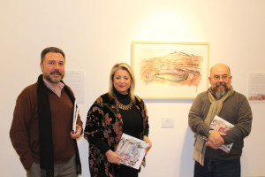Presentación de la exposición en la Sala de la Provincia.