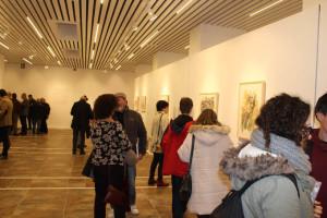 Numerosos asistentes acudieron a la inauguración.