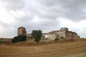 Restos del antigo convento de Bollullos. / Foto: bollullos.es