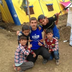 De su experiencia en Idomeni se queda con la sonrisa de los niños.
