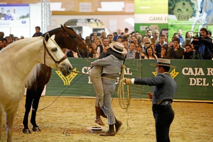 Momento en el que fue proclamado Campeón del Mundo. / Foto: Alberto Martínez Bracero.