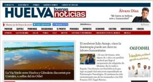 Huelva Buenas Noticias, innovando en el sector de los medios de comunicación, muestra perfil de líder.