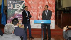 Un momento de la presentación de la Huelva Extrema 2018.