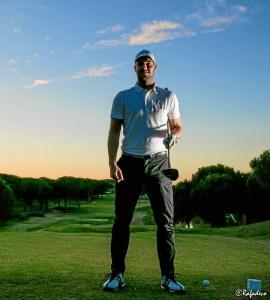 Jesús Castizo, profesor y profesional del golf.