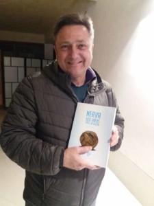 José Luis Lozano Álvez y su trabajo sobre los 100 años del fútbol en Nerva.