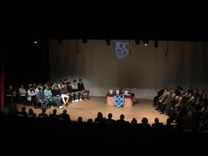 Gala en el Teatro Victoria de Nerva.