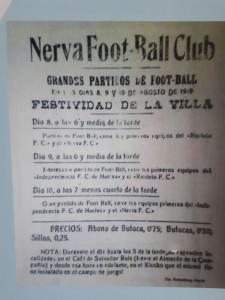 100 años futbol nerva