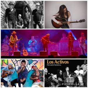 Actuaciones musicales en San Sebastián.