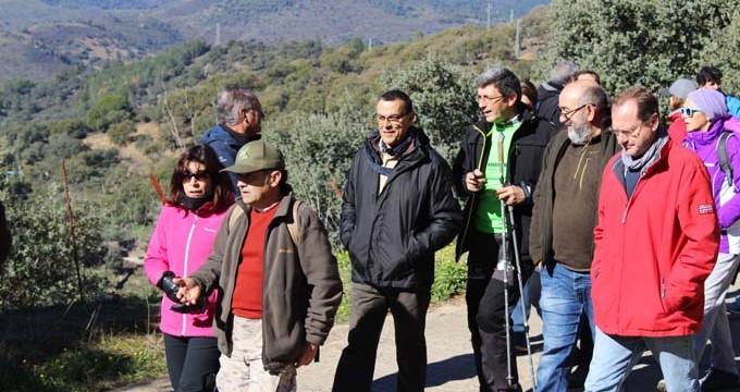 Santa Ana La Real lleva a cabo un estudio sobre la topografía y digitalización de sus senderos
