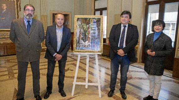 Nacho Molina y Juan Luis Rodríguez Medina, pregonero y cartelista de las próximas Fiestas de San Sebastián
