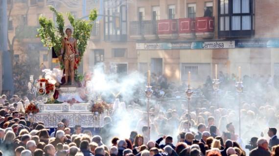 Huelva acoge a San Sebastián en sus calles de siempre