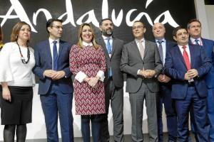 Inauguracion pabellon Andalucia Fitur 1
