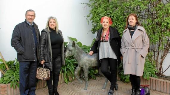 La periodista Rosa María Calaf visita la Casa Museo de Zenobia y Juan Ramón Jiménez