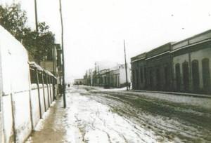 Una de las calles del Barrio que historiamos.