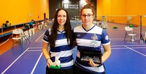 Haideé Ojeda y Nerea Ivorra estuvieron en el torneo de Huesca.
