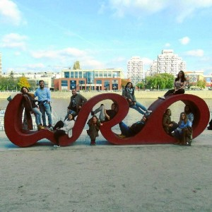 Los onubenses en Wroclaw, capital de la cultura europea.