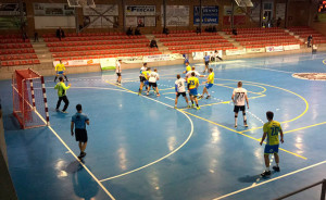 El Pedro Alonso Niño estuvo cerca de ganar en Pozoblanco, donde en los últimos minutos vio como se le iba el partido. / Foto: @CBM_Pozoblanco.