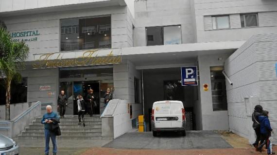 El Hospital Costa de la Luz abre el nuevo parking subterráneo