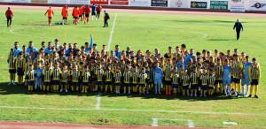 Las categorías inferiores del Isla Cristina FC fueron presentadas este domingo.