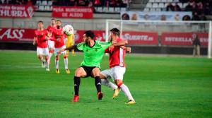 José Carlos Lazo fue de los jugadores que más inquietaron a la zaga local. / Foto: @5Artemio.