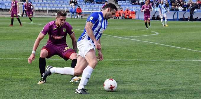 Antonio Núñez ya se entrena con el grupo tras su lesión.