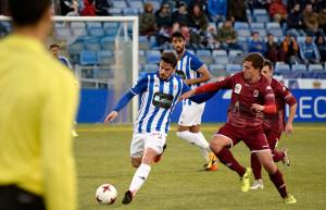 Rafa de Vicente fue uno de los jugadores sustituidos en el segundo tiempo. / Foto: Pablo Sayago.