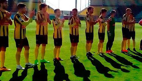 El San Roque se despide de su afición con el partido de este domingo ante el AD Ceuta.