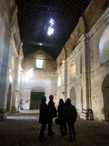 Visita a las obras de restauración del convento de Santa Catalina.