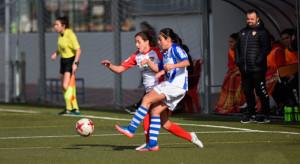 Empate del Sporting en Badajoz, que supone el primer punto fuera de casa de las onubenses. / Foto: www.lfp.es.