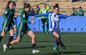 El Sporting regresa a la competición en Badajoz con la intención de seguir con las buenas sensaciones que dejó en el último partido de 2017, ante el Betis. / Foto: www.lfp.es.
