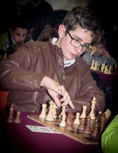 Alejandro Gómez también destacó en el tercer tablero y se hizo con el bronce.