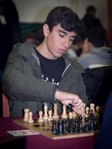 Pablo Parreño fue oro como más destacado Tablero 4.