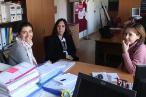 La concejala Alicia Narciso visitó la sede de la Asociación 'Caminar'.