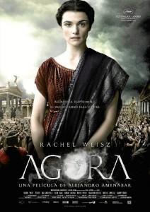 Alejandro Amenabar narró la vida de Alejandra de Hipatia en su película 'Ágora'. / Foto: Matemáticas Digitales.